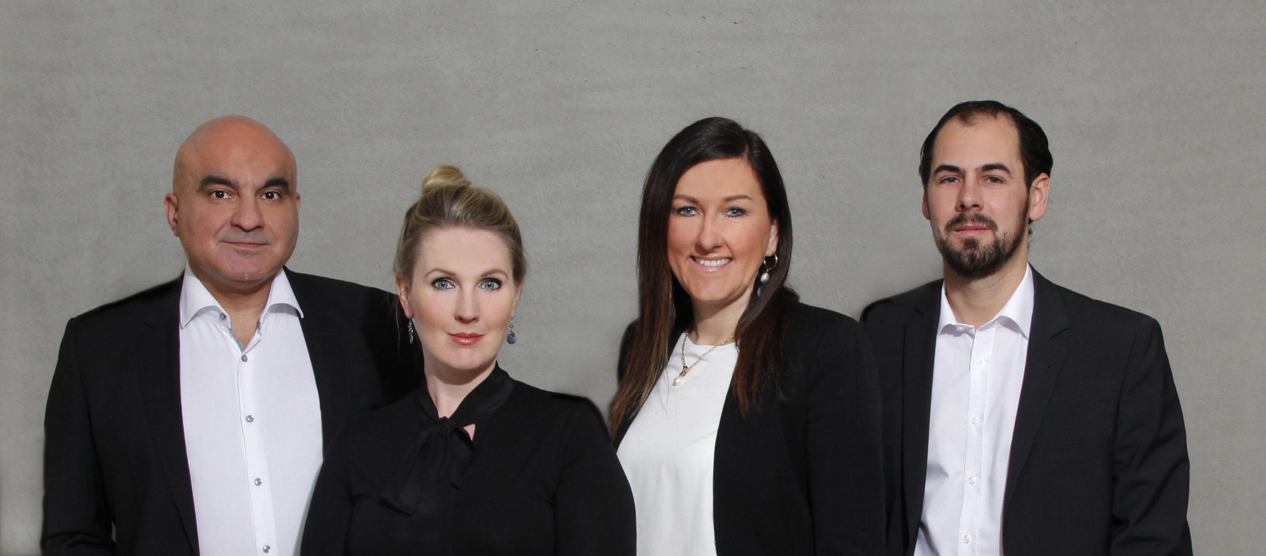 Gruppenfoto der Rechtsanwälte Goethestr. 89 GbR